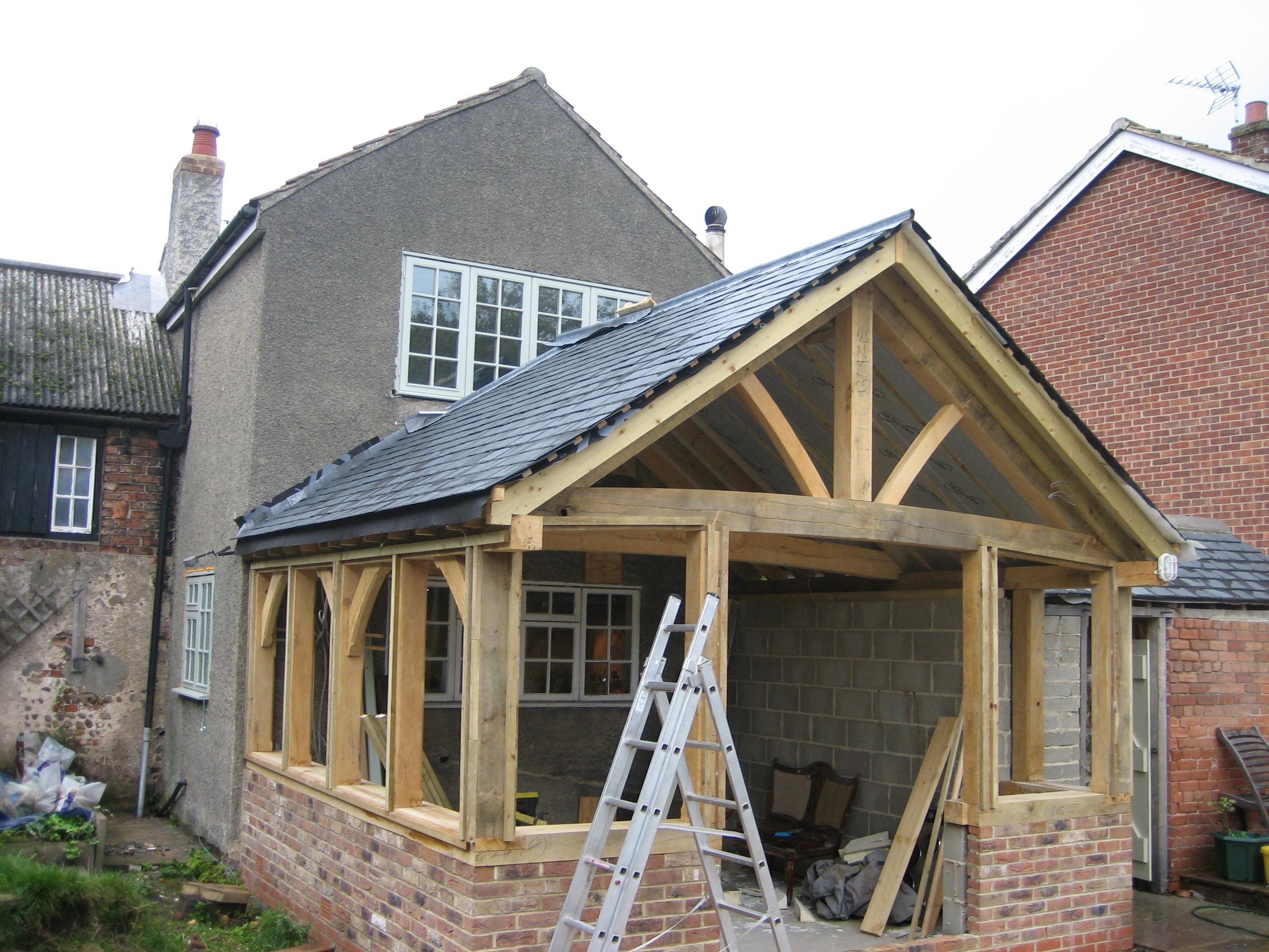 Oak garden room 2nd stage completion for Oak garden rooms